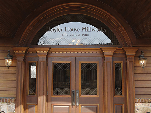 Heister House Millworks What We Do
